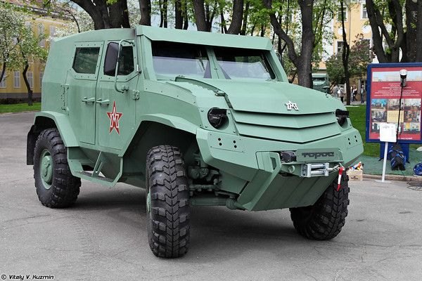 Бронеавтомобиль Торос (Basic variant of Toros armored vehicle)