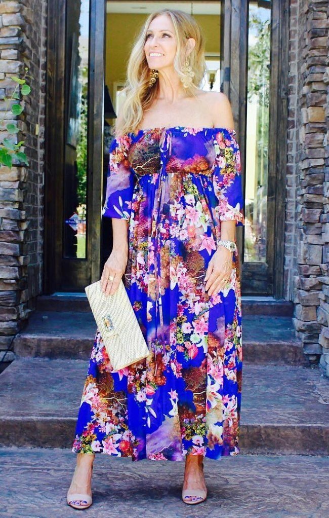 Style Instagrammers Bloom in Summer Florals   Fabulous After 40