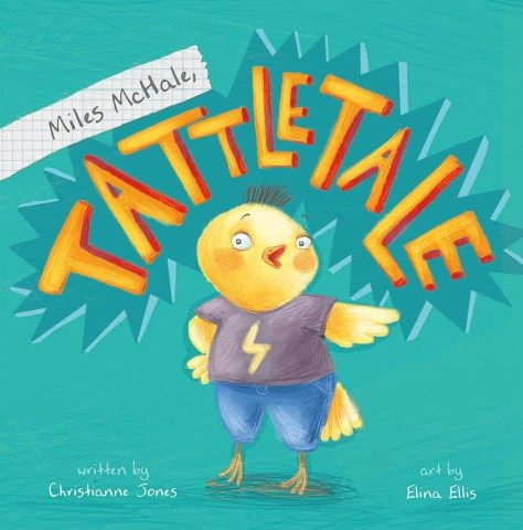 Miles McHale, Tattletale makes a good read aloud for schools and libraries.