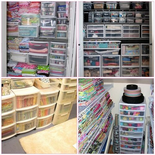 Favorite Closets | 1. Sewing Room, 2. into the closet, 3. fa… | Flickr