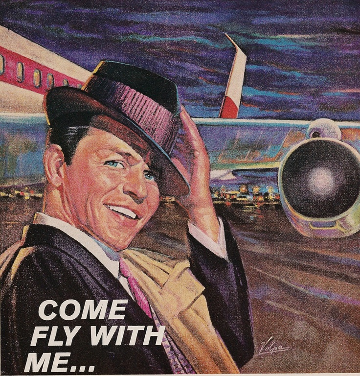 Frank Sinatra ad for American Airlines