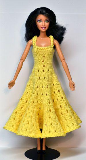 Site tricot robe poupées Barbie kiki braz etc patron tutoriel à télécharger