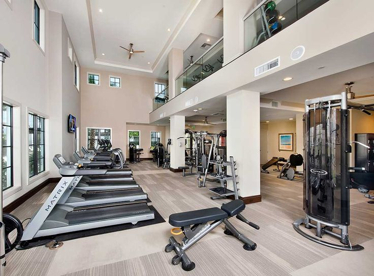 No excuses when you have a two-story state-of-the-art fitness center at your disposal at AMLI Doral, luxury apartment rentals in Doral, FL.