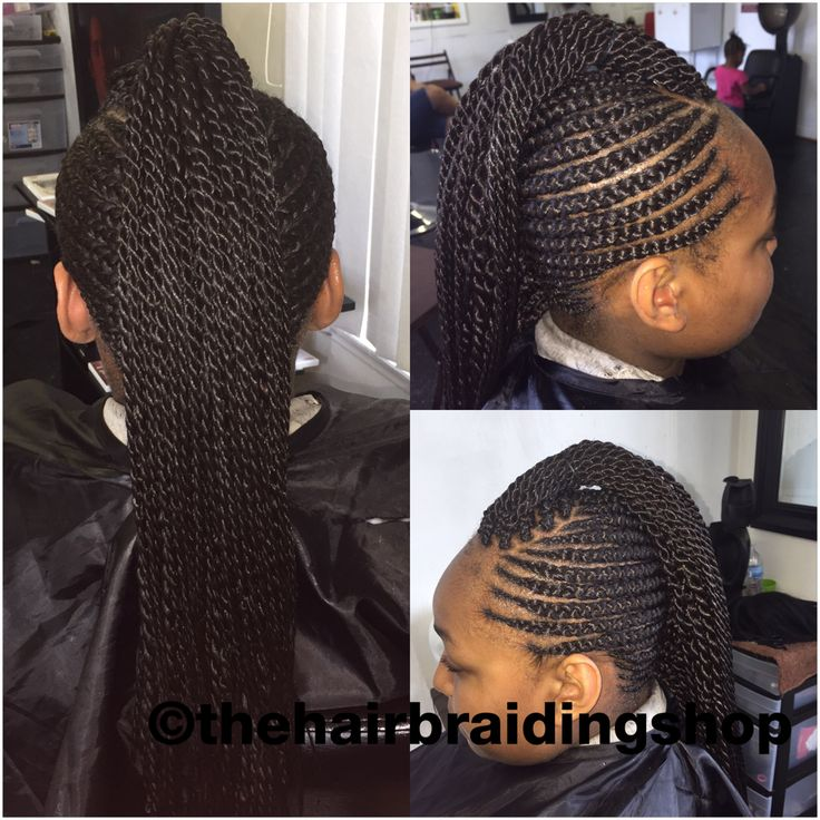 Kids cornrows with Mohawk  African hair braiding  Cornrows styles