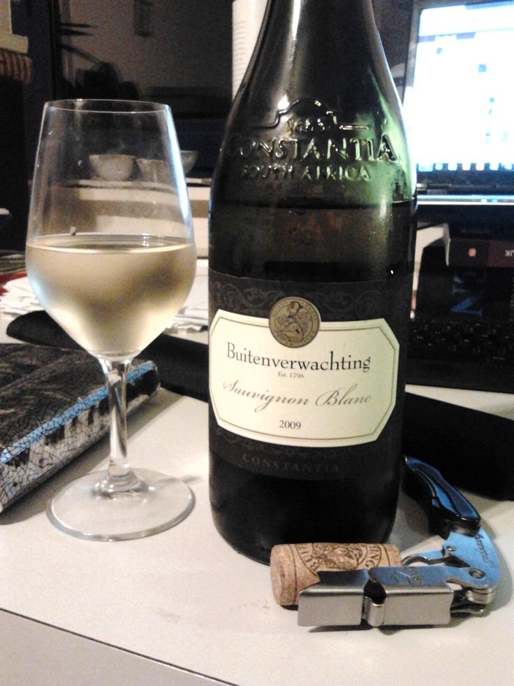 Buitenverwachting Sauvignon Blanc 2009, wat zijn wilde haren kwijt, verse ananas, grassig, asperge, stenig, fijne wijn uit Zuid-Afrika.
