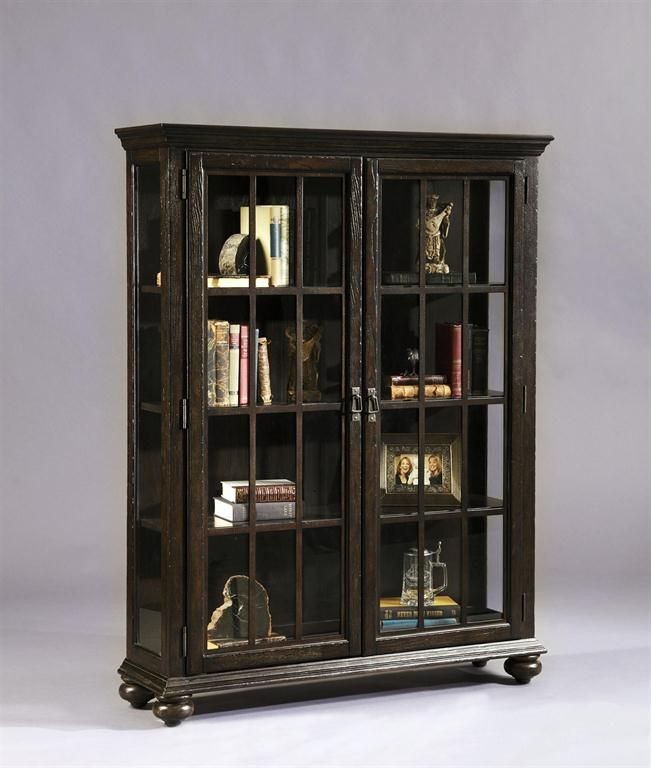 Beautiful atlantic Glass Door Cabinet