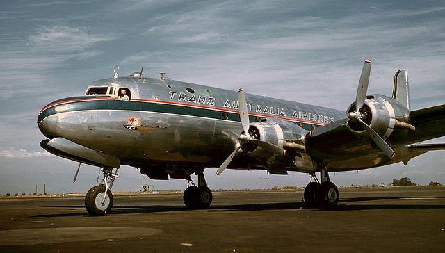 Douglas C-54/DC-4 Trans Australia Airlines, -