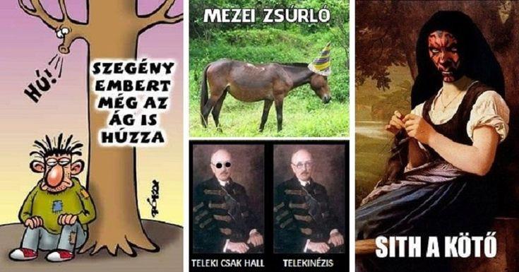 25 borzalmasan fárasztó szóvicc, amit csak a magyarok értenek