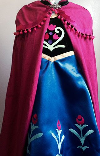 DIY Princess Anna Costumes from Disney's Frozen - What's up Fagans?