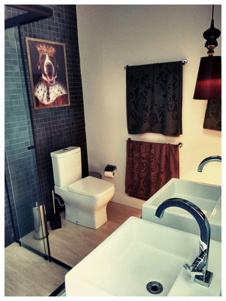 Banheiro Suíte 02: Estilo Vitoriano