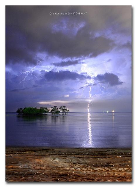 Port Dickson Lightning Strike