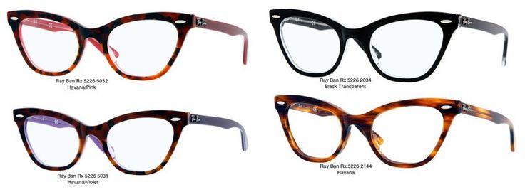 ray ban cat eye frames bonafide spectacles pinterest. Black Bedroom Furniture Sets. Home Design Ideas