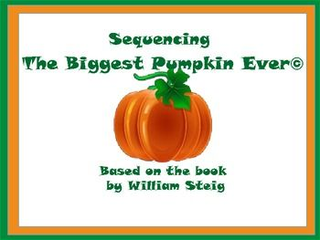 "Sequencing with ""The Biggest Pumpkin Ever""©"
