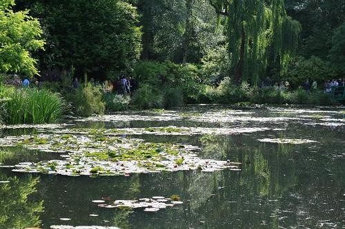 フランス・ジヴェルニーのモネの庭