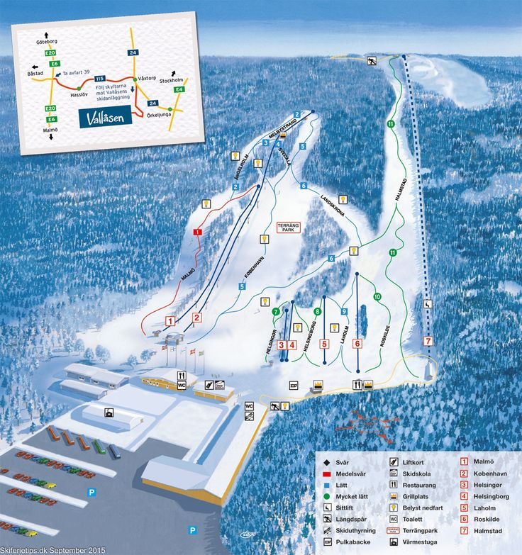 ❄ Updated #Vallåsen Piste Map. #skiing ❄ ➽ See high resolution at http://www.skiferietips.dk/sverige/vallasen/pistekort