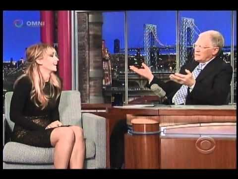 Jennifer Lawrence on the Late Night show with David Letterman. Hilarious