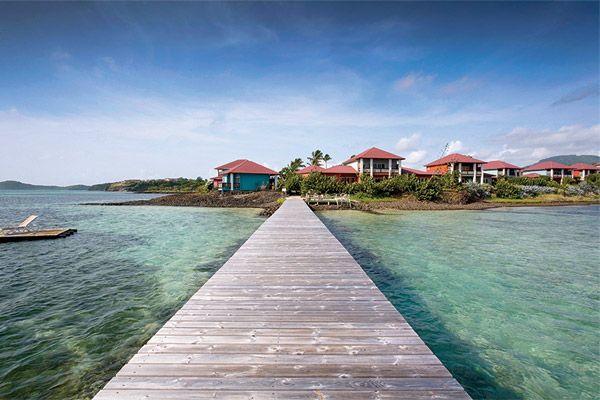 Cap Est Lagoon in Martinique