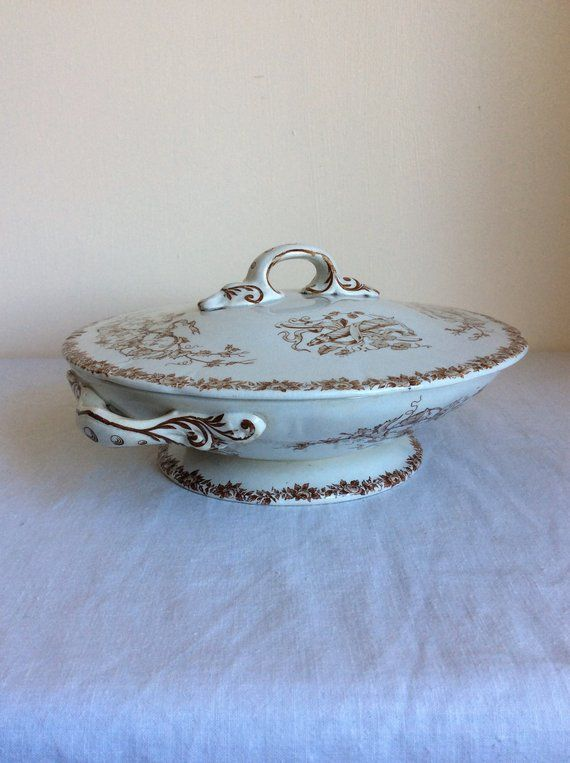 Vintage serving dish with cover