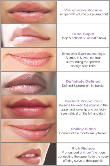 lips types - Google Search                                                                                                                                                                                 More
