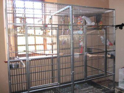 Large Parrot Cage ARKANSAS 2 used Antique colour