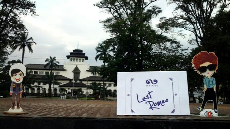 At GEDUNG SATE Bandung