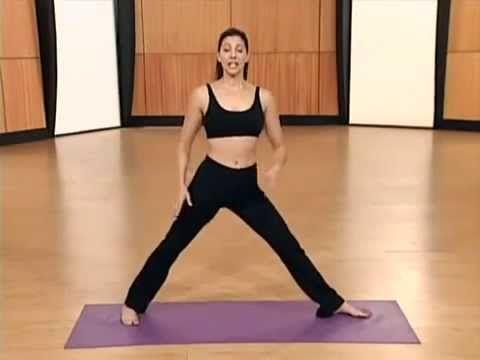 Йога для начинающих, для похудения занятие 2