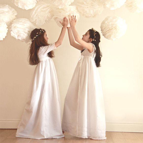 Vestido de Comunión sencillos y lenceros de BelandSoph.com - Especial Primera Comunion en CharHadas.com