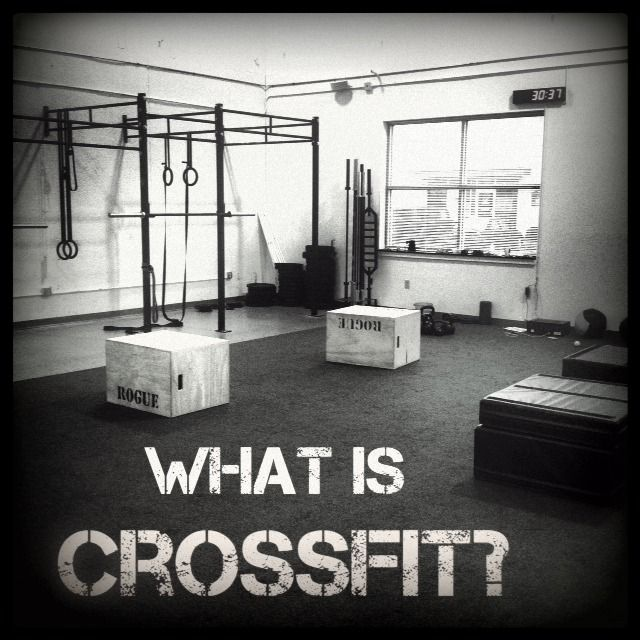 What is Crossfit? by one of my fave bloggers. I really want to try Crossfit!