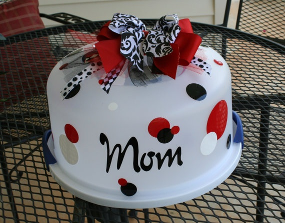 Personalized Cake CarrierCake Carrier