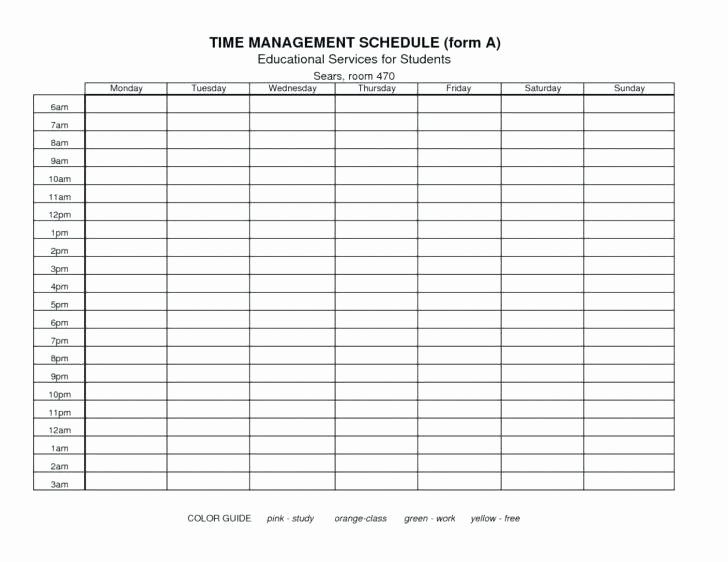 Time Management Plan Template In 2020 Time Management Plan Time
