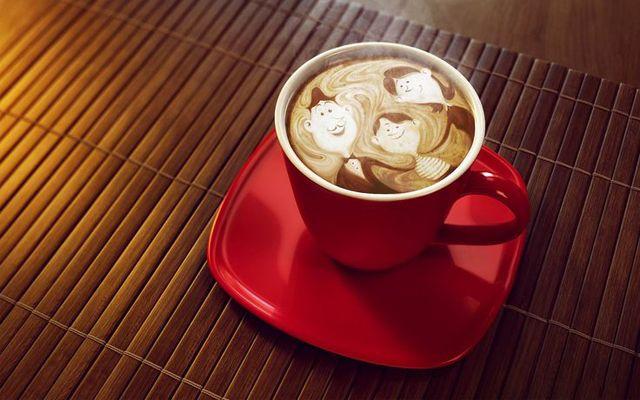 Kahve süsleme örnekleri, Kahve süslemesi nasıl yapılır, kahve sanatı örnekler, evde kahve süsleme nasıl yapılır
