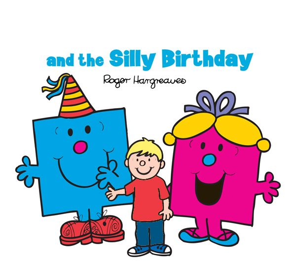 """You"" and the Silly Birthday Mr Men and Little Miss Personalised Book"