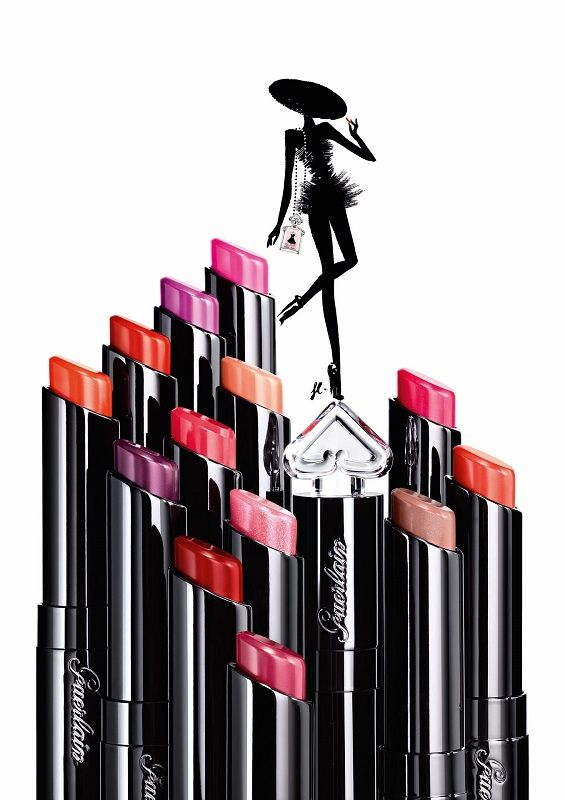 Guerlain creates an absolutely essential and utterly irresistible La Petite Robe Noire Lipstick in deliciously shiny texture to dress up your style with colour! Vibrant shades in an innovative texture. Inspired by La Petite Robe Noire, the formula is deliciously perfumed and delicately flavoured for an unforgettable taste on your lips.