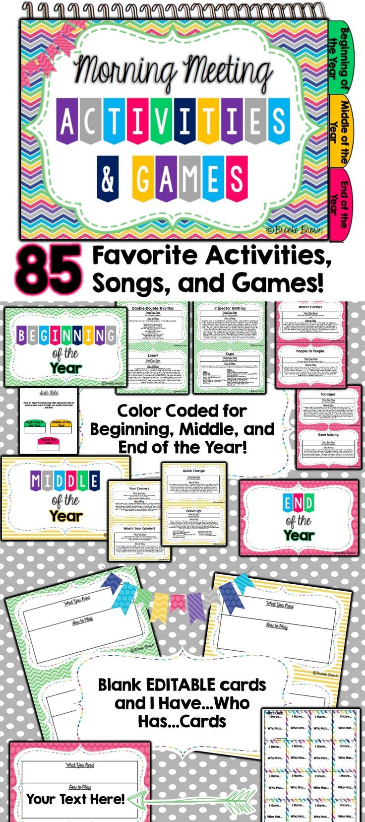 85 Favorite Community Building Activities, Games, and Songs for Morning Meeting! Inspired by Responsive Classroom | Classroom Community