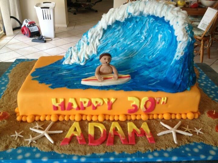 Cake Decorating Making Waves : Wave cake Words Pinterest Waves, Cakes and Wave cake