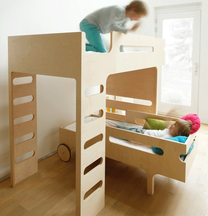 26 Best Kids Bed Plywood Images On Pinterest Baby