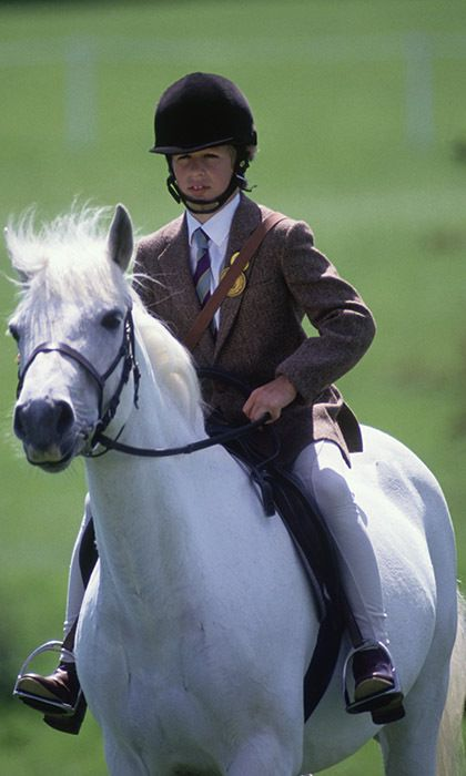 Like his sister Zara, Peter Phillips started riding horses at a very young age.