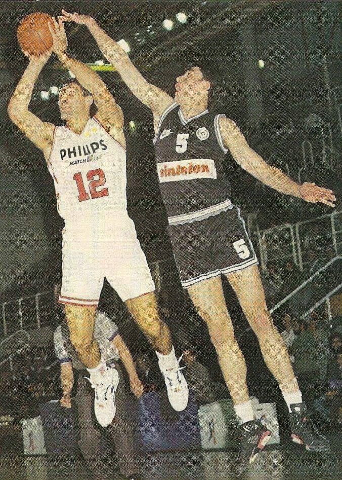PARTIZAN Belgrado vs OLIMPIA Milano, 91/92