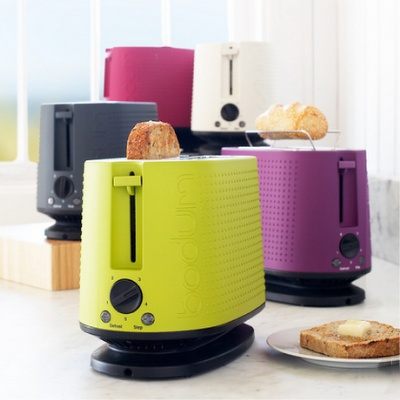 add citrus accents (like this cool Bodum toaster)
