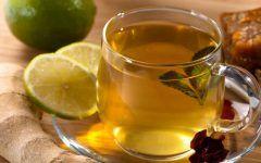 Chá de Gengibre com Hortelã Para Tosse com Catarro