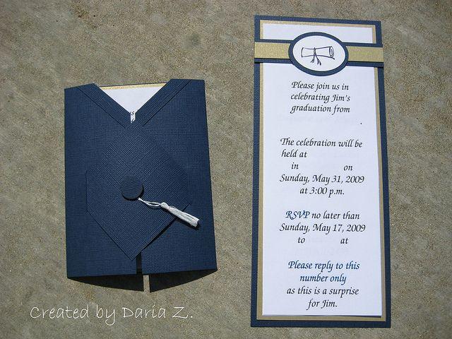 Graduation Invitation Cards - Graduation Invitation Templates
