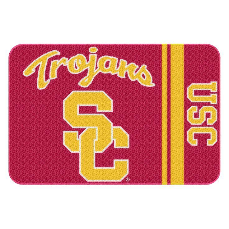 USC College 20x30 Acrylic Tufted Rug