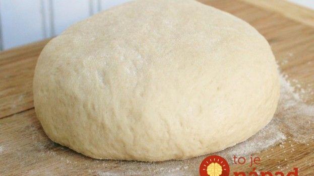 Na koláč aj na pizzu: Kysnuté cesto, ktoré netreba miesiť!
