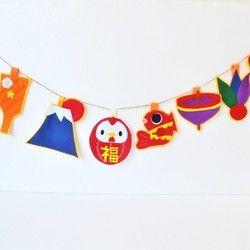 ★新作★雛祭りガーランド