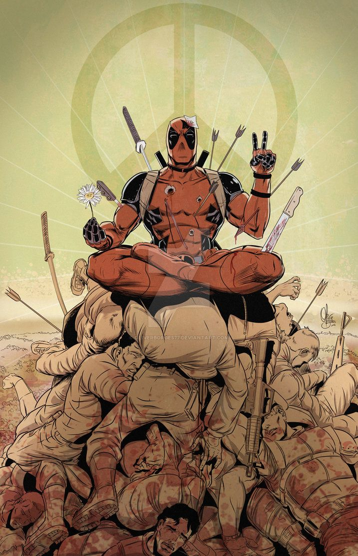 #Deadpool #Fan #Art. (Deadpool) By: OliverBorges77. (THE * 5 * STÅR * ÅWARD * OF: * AW YEAH, IT'S MAJOR ÅWESOMENESS!!!™) [THANK U 4 PINNING!!!<·><]<©>ÅÅÅ+(OB4E)  https://s-media-cache-ak0.pinimg.com/736x/7d/54/4a/7d544a7001386e6a8001296691bbc0c3.jpg