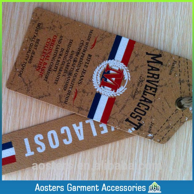 Source china custom manufacturers swing paper hang tags on m