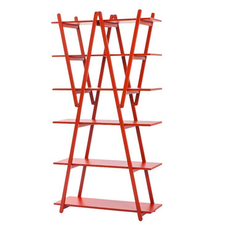 'Nuvola Rossa' bookcase by Vico Magistretti, £3,012, Cassina (cassina.com)