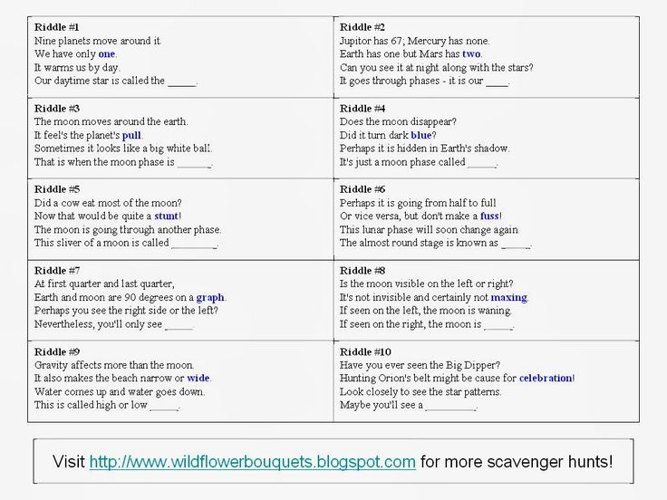 scavenger hunt clues in a school - Google Search