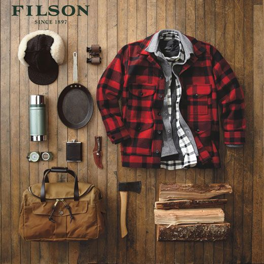 """Filson, """"May as well buy the best"""""""