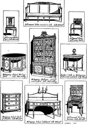 17 best images about sheraton 1795 1815 georgian era king. Black Bedroom Furniture Sets. Home Design Ideas
